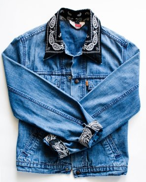 bandana-veste-en-jean-customiser